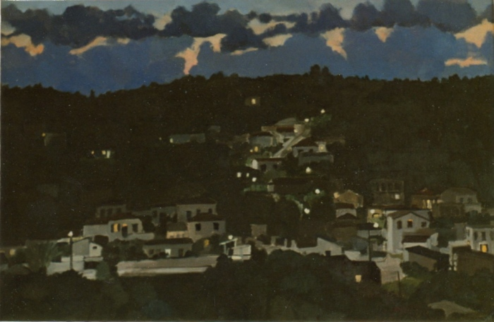Gerani at Night