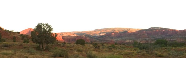 Creek campsite View